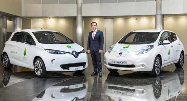 La Alianza Renault-Nissan suministrará una flota de 200 vehículos eléctricos a la Cumbre de París.   DA