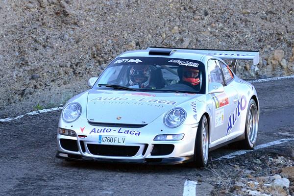 Armide Martín debutará con el (Porsche 997 GT3 Rally). / SERGIO MÉNDEZ