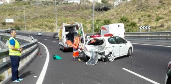 Imagen del accidente. / LOS JARDINEROS