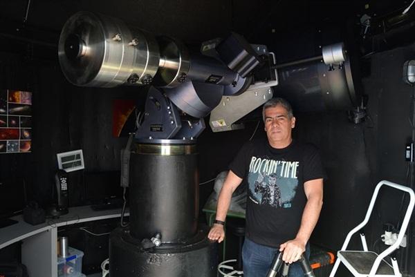 Uno de los científicos del UPCT./ Foto: UPCT