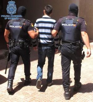 Momento de la detención. | DA