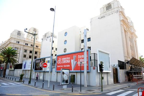 La idea es preparar el edificio para una posible ampliación futura a la zona de aparcamientos. | SERGIO MÉNDEZ