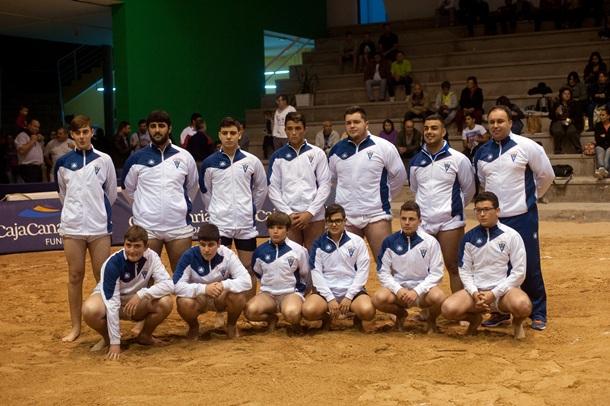Conjunto del Tegueste, campeón del Torneo CajaCanarias. | DA