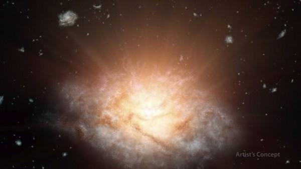 Imagen de la galaxia. NASA