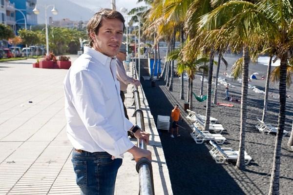 Mariano Hernández, consejero de Deportes del Cabildo de La Palma. / DA