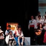 Un coro de niños amenizó la gala con cantos canarios y, al final, el himno de la Comunidad. / FRAN PALLERO
