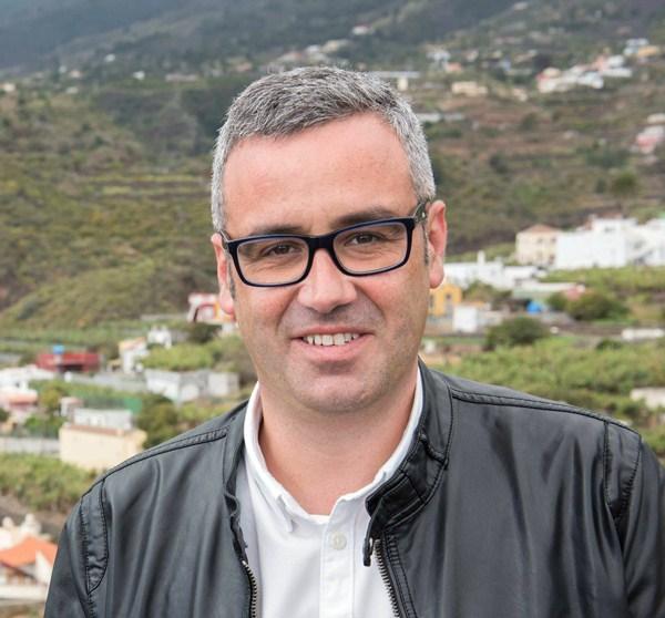 El candidato a la Alcaldía capitalina por el PSOE, Sergio Matos. / DA