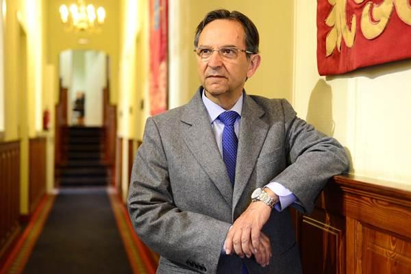 Antonio Castro en el Parlamento. | S. M.
