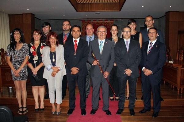 Arturo González ha recibido el apoyo de 13 de los 17 concejales de la Corporación. / DA