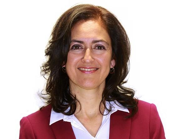 Elena Fumero se enteró en el pleno del apoyo de CCN y PP. / DA