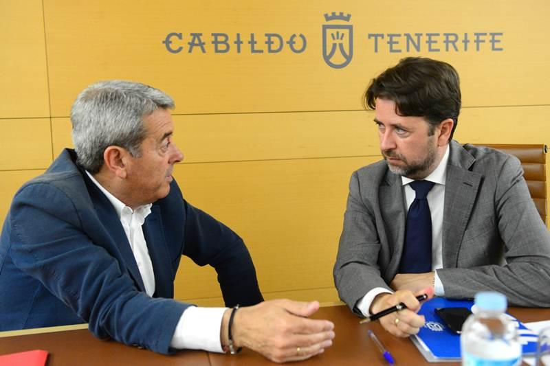 Aurelio Abreu y Carlos Alonso están ya en la recta final de la negociación. / S. M.