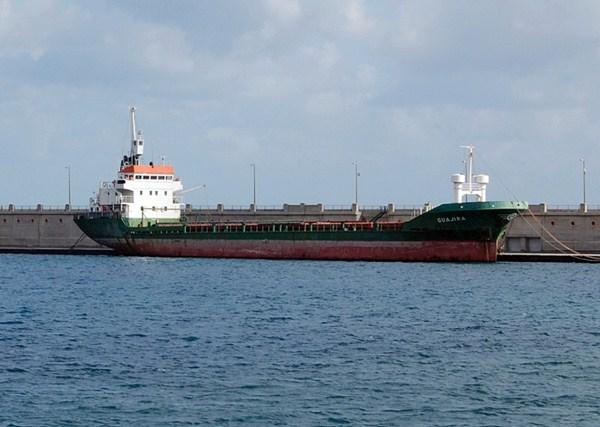 Imagen archivo del buque de transporte general que entonces se llamaba Guajira; hoy es el Luna K. / DA