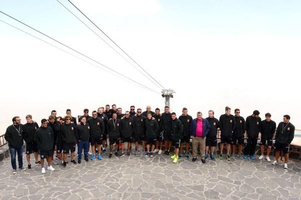 Primera plantilla y cuerpo técnico disfrutaron de uno de los parques nacionales más visitados de todo el planeta. / SERGIO MÉNDEZ