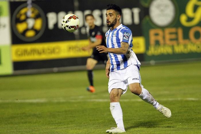 Chuli anotó 11 goles con el Leganés entre enero y junio de este año en la segunda vuelta. / PABLO MORENO