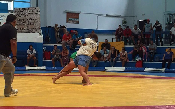 Estefanía Ramírez quitó de brega a Inés Cano en el último enfrentamiento. / DA