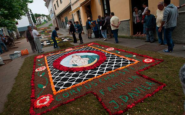 Corpus Christi en Tacoronte. / FRAN PALLERO