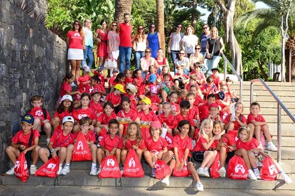 Alumnos de 1º de Primaria de las Escuelas Pías. / S.M.