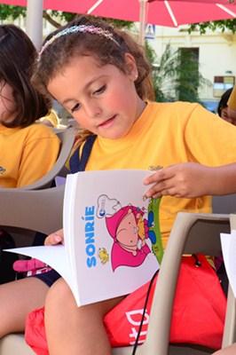 Participaron niños de las Escuelas Pías, La Salle La Laguna y el Hogar María Auxiliadora. / S.M.