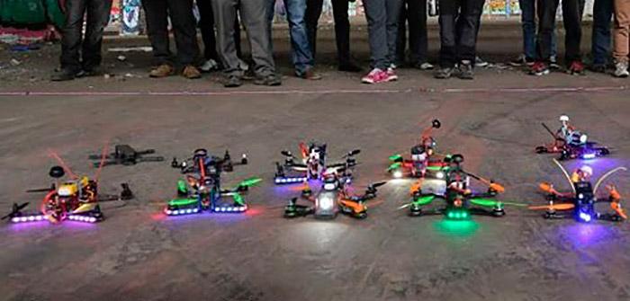 Así son las carreras de drones en primera persona