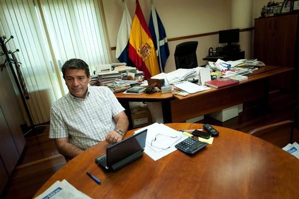 José Gumersindo García abandonó ayer su despacho tras 14 años. | F.P.