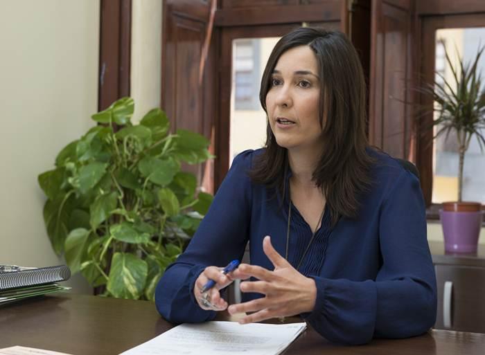 La número dos de los socialistas laguneros, Mónica Martín. | DA