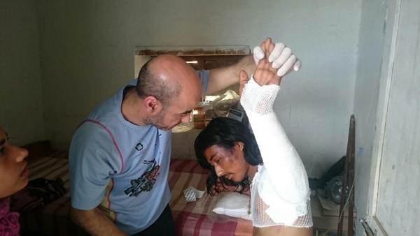 La ONG presta asistencia en Nagarkot, una aldea situada a unos 70 kilómetros de Katmandú.   DONA VIDA