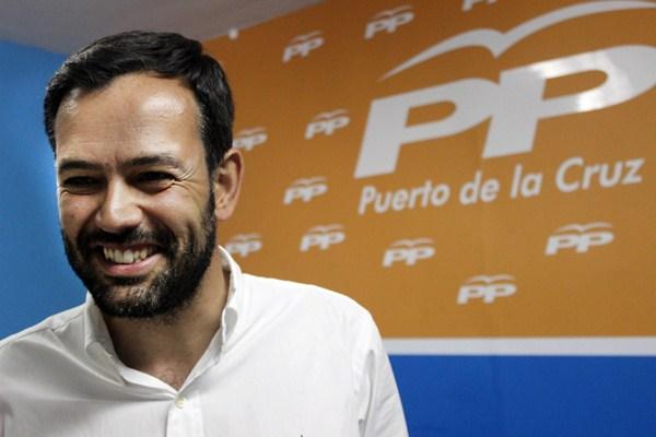 Lope Afonso fue el segundo candidato más votado el 24 de mayo para presidir la Alcaldía. / SOFÍA CABRERA