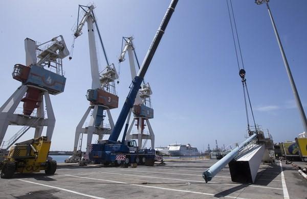 Cada una de las infraestructuras tiene un peso de seis toneladas. / DA