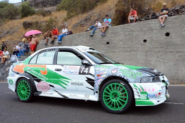 Los vencedores cogen mucha moral para el Rally Senderos de La Palma, el próximo 4 de julio. / SERGIO MÉNDEZ