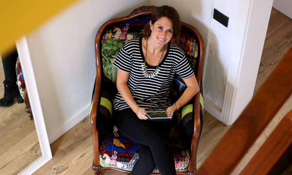 """Riabel Morales: """"Los jóvenes  ya no entienden  otra forma  de trabajar  que la de colaborar"""""""