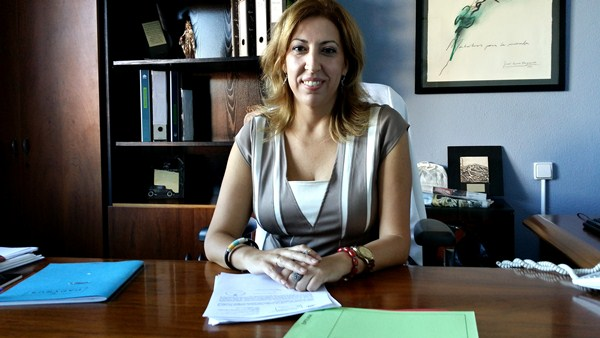 La alcaldesa en funciones y candidata de CC, Sandra Rodríguez. / DA