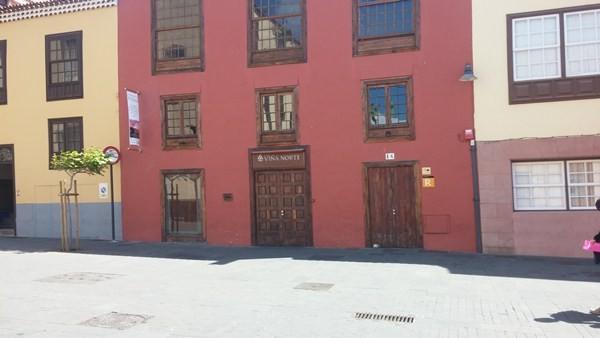 La céntrica casa permanece cerrada desde los primeros días del mes de junio. / DA