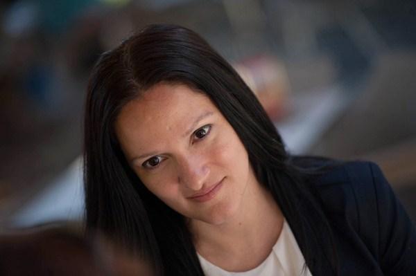 Zaida González, primera teniente de Alcalde y concejal de Seguridad ciudadana de Santa Cruz . / FRAN PALLERO