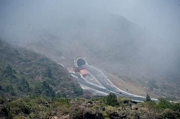 El tramo que resta por construir de la carretera de cierre del anillo insular es el que une El Tanque y Santiago del Teide. | FRAN PALLERO