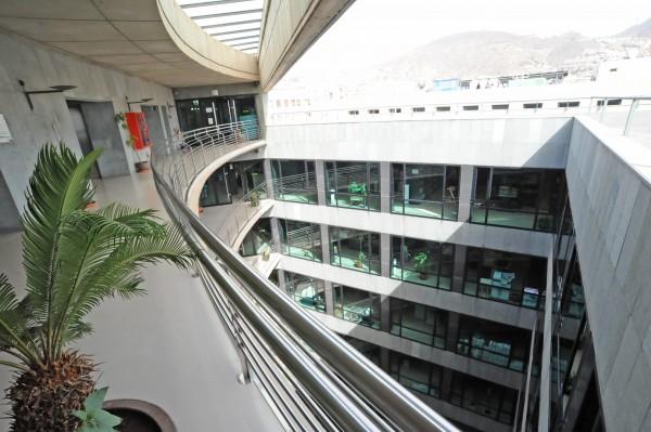 Oficinas del Gobierno de Canarias en el edificio Usos Múltiples II de Santa Cruz de Tenerife. / DA