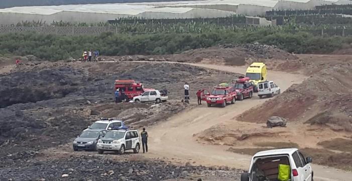 Un hombre muere ahogado en la costa de Los Silos