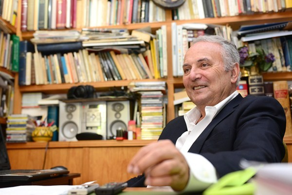 Juan Manuel García Ramos, escritor y presidente del PNC. / SERGIO MÉNDEZ