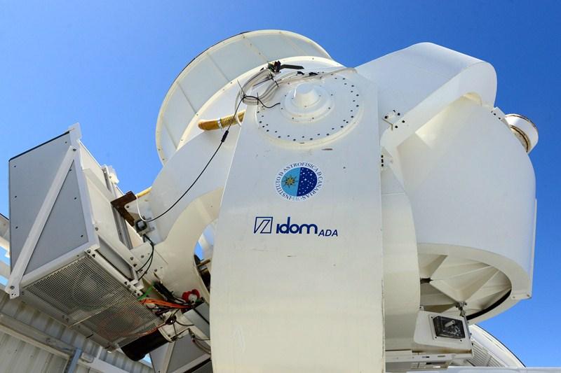 Los nuevos aparatos de observación pueden ser operados por control remoto. / S. M.