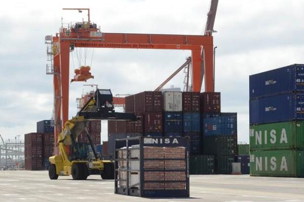 El tráfico de contenedores aumentó más del 5%. / S. M.