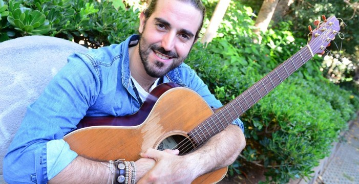 "Andrés Suárez: ""En Tenerife me tratan mejor que en mi casa"""