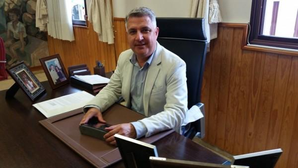 José Juan Lemes, alcalde de Arafo. / DA