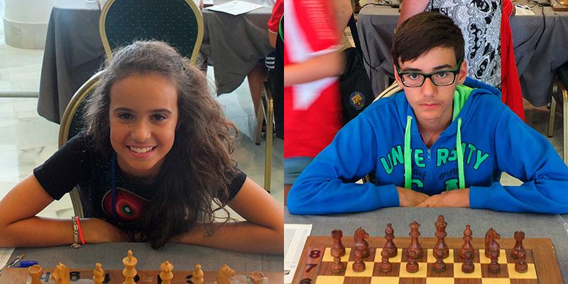 Adhara Rodríguez y Gabriel Pérez