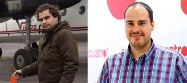 Angel Sastre y Antonio Pampliega, dos de los periodistas secuestrados. | EP