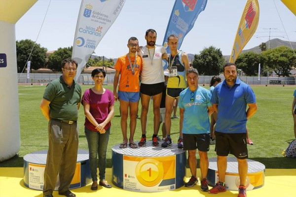 Ayoze Pérez dominó la prueba de 5.000. | DA