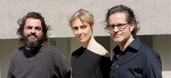 De izquierda a derecha, Yanes, Sixt y González, de Gpy Arquitectos. / DA