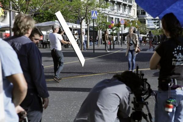 El rodaje del filme de la saga de Bourne se realizará en distintos puntos de la capital, como la plaza de España o el barrio de El Toscal. / DA