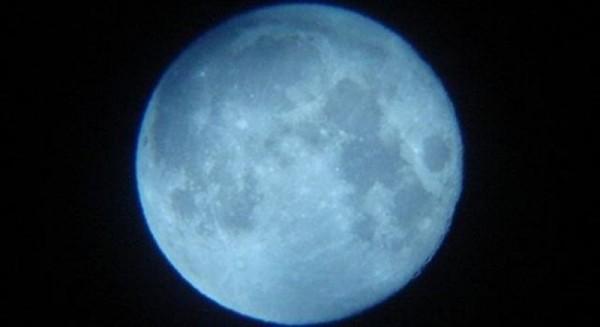 Imagen de la anterior 'Luna Azul', el pasado 31 de agosto. | NASA