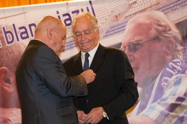 Pérez Ascanio es el vigésimo presidente de la historia del club. / F. P.