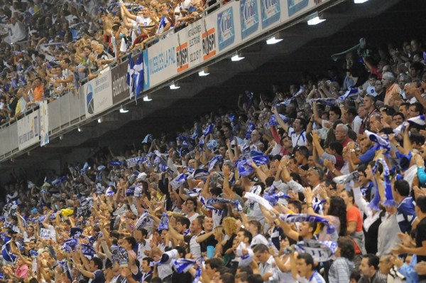 El club blanquiazul confía en alcanzar las cifras de las dos últimas temporadas en Segunda División. / DA