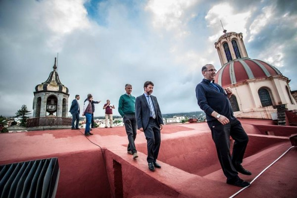 El presidente insular, Carlos Alonso, visitó las obras hace unos días. | DA